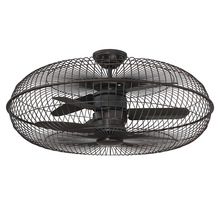 "Savoy House 28-336-FD-13 - Senegal 28"" Air Ionizing Fan D'lier"