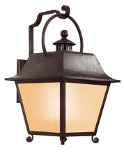 Troy BF9443NB - One Light Natural Bronze Wall Lantern
