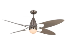 "Monte Carlo 4BFR54BSD - 54"" Butterfly - Brushed Steel"