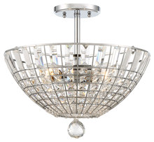 Minka-Lavery 2348-77 - Braiden 3 Light Semi Flush