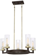 Minka-Lavery 3045-560 - 5 Light Chandelier