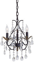 Minka-Lavery 3122-301 - 3 Light Mini Chandelier
