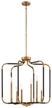Minka-Lavery 4066-660 - 6 Light Chandelier