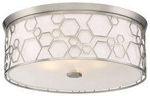 Minka-Lavery 845-84 - 4 Light Flush Mount