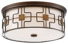 Minka-Lavery 846-104 - 3 Light Flush Mount