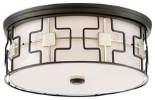 Minka-Lavery 846-105 - 3 Light Flush Mount
