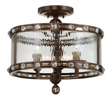 Savoy House 6-6032-3-131 - Paragon 3 Light Semi Flush