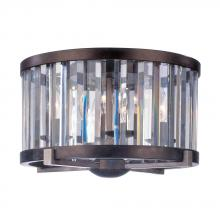 Kalco 2545GB - Foster 16 Inch Flush Mount With Cut Crystal Shade