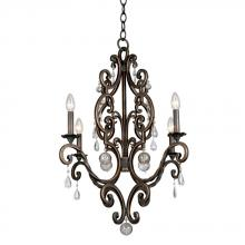 Kalco 2638AC - Montgomery 4 Light Chandelier