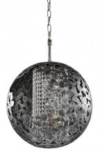 Kalco 306912AF - Belladonna 4 Light Chandelier (18 Inch)