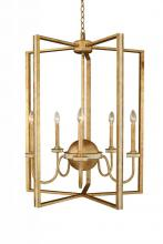 Kalco 500752HG - LaSalle 5 Light Foyer Chandelier