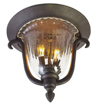 Kalco 9017MB - Santa Barbara Outdoor 2 Light Flush Mount