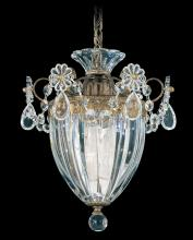 Schonbek 1241-22 - Bagatelle 1 Light 110V Pendant in Heirloom Gold with Clear Heritage Crystal