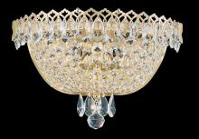 Schonbek 2610-211 - Camelot 2 Light 110V Wall Sconce in Polished Gold with Clear Gemcut Crystal