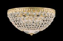 Schonbek 1562-76A - Petit Crystal 5 Light 110V Close to Ceiling in Heirloom Bronze with Clear Spectra Crystal