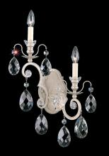 Schonbek 3757-26 - Renaissance 2 Light 110V Wall Sconce in French Gold with Clear Heritage Crystal