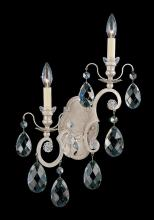 Schonbek 3758-23 - Renaissance 2 Light 110V Wall Sconce in Etruscan Gold with Clear Heritage Crystal