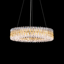Schonbek RS8343N-22A - Sarella 12 Light 110V Pendant in Heirloom Gold with Crystal Spectra Crystal