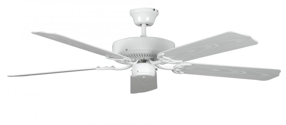 Global Source Lighting in AGOURA HILLS, California, United States,  140W0, Concord By Luminance  52 Inch Porch Ceiling Fan - White, Porch