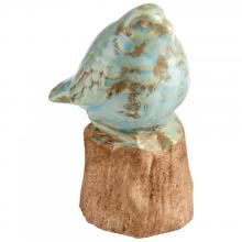 Cyan Designs 09077 - Bird On A Perch Sculpture