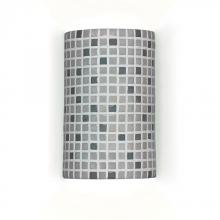 A-19 M20308-GR - One Light Grey Wall Light