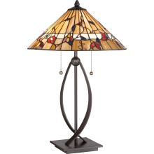 Quoizel TF3182TWT - Tiffany Table Lamp