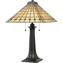 Quoizel TF3335TVB - Tiffany Table Lamp