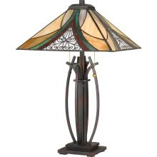 Quoizel TF3342TVA - Tiffany Table Lamp