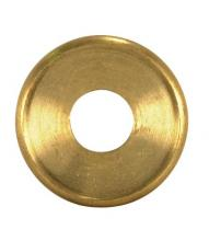 Satco Products Inc. 90/1597 - Turned Brass Check Ring 1/8 IP Slip - Unfinished 1""