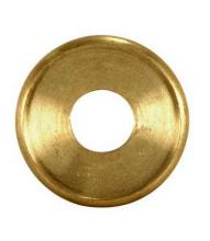 Satco Products Inc. 90/1603 - Turned Brass Check Ring 1/8 IP Slip - Unfinished 1-3/8""