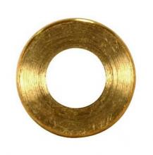 Satco Products Inc. 90/2150 - Turned Brass Check Ring 1/4 IP Slip Burnished and Lacquered 1-1/2""
