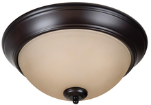 "Jeremiah XP13OB-2A - Pro Builder 2 Light 13"" Flushmount in Oiled Bronze"