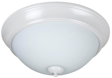 "Jeremiah XP13W-2W - Pro Builder 2 Light 13"" Flushmount in White"
