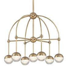Hudson Valley 1227-AGB - LED CHANDELIER