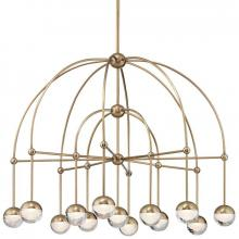 Hudson Valley 1233-AGB - LED CHANDELIER