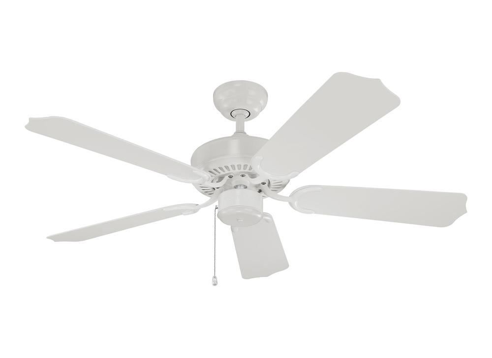 "Global Source Lighting in AGOURA HILLS, California, United States,  3737, 42"" Weatherford II Outdoor Fan - White, Weatherford II"