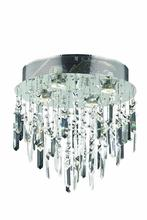 Elegant V2006F14SC/RC - 2006 Galaxy Collection Flush Mount D:14in H:14in Lt:4 Chrome Finish (Royal Cut Crystals)